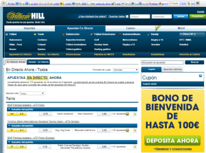 william hill movil ipad