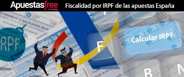 fiscalidad por irpf de las apuestas