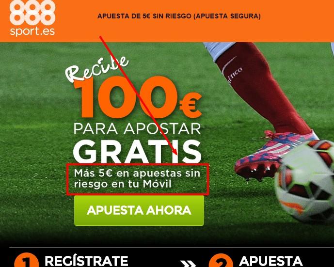 apuesta gratuita con 888sport