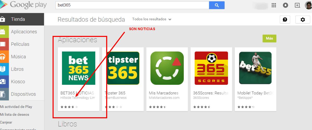 bet365 en google play