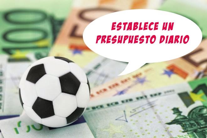 consejo 1 para ganar en apuestas deportivas establecer un presupuesto diario