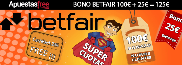 bono betfair cashback supercuotas exchange