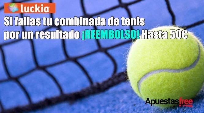 Combinadas de tenis Luckia