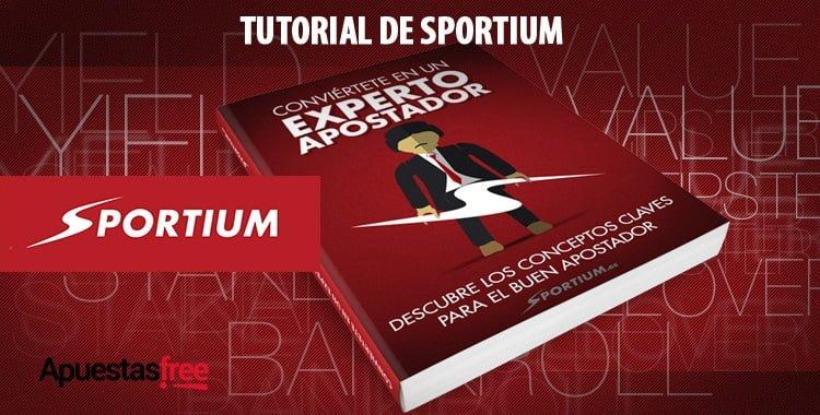 tutorial de Sportium, cómo apostar en Sportium