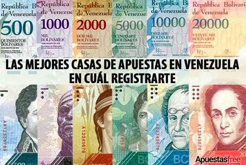 LAS MEJORES CASAS DE APUESTAS EN VENEZUELA