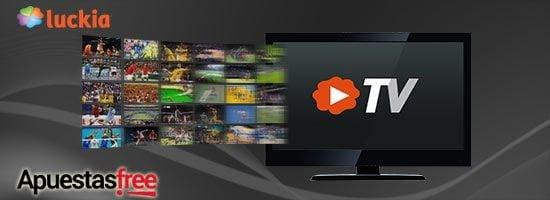 luckia tv para ver tenis gratis en directo
