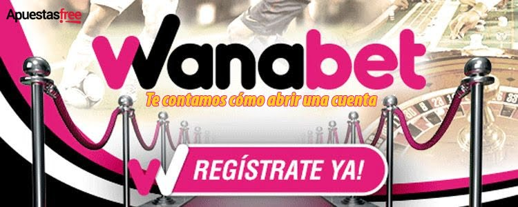 registro en wanabet