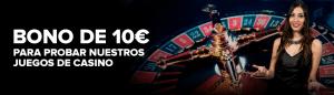 Bono sin depósito codere casino