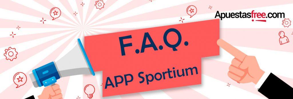 aplicación sportium ios