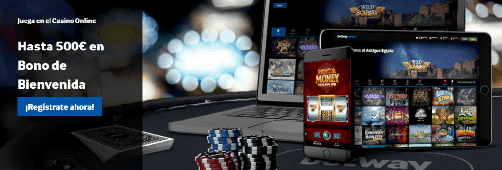 Betway Bono Casino