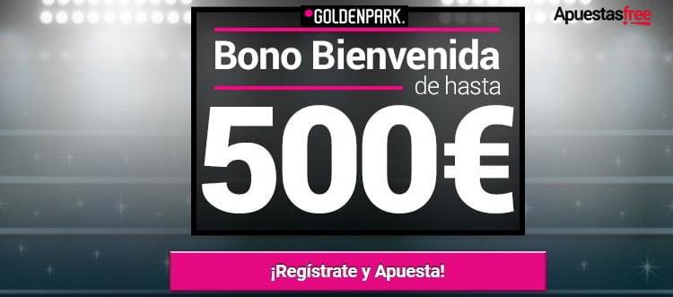 REGISTRARSE EN GOLDENPARK Y BONO DE BIENVENIDA