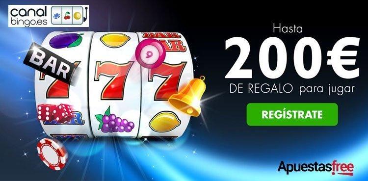 codigos promocionales en casino  de canalbingo
