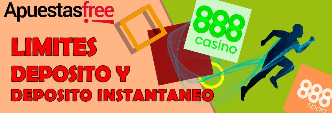 depósito 888casino