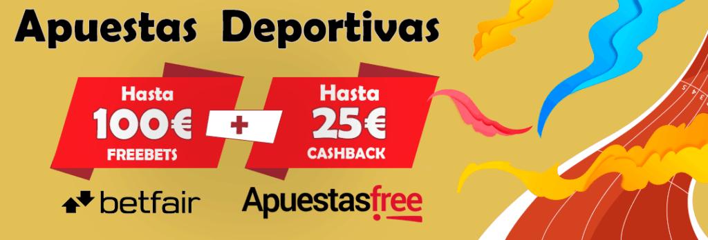 bono betfair 100 euros mas cashback