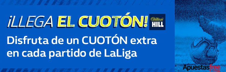 cuotón william hill