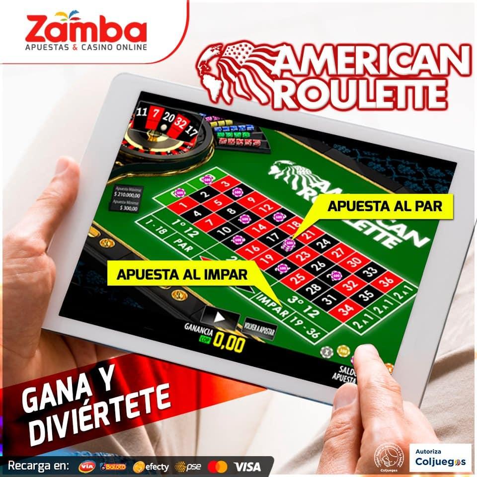 Modalidades de juego en la ruleta para Zamba