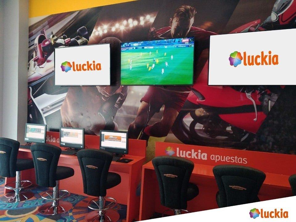 Puntos físicos de Luckia Colombia