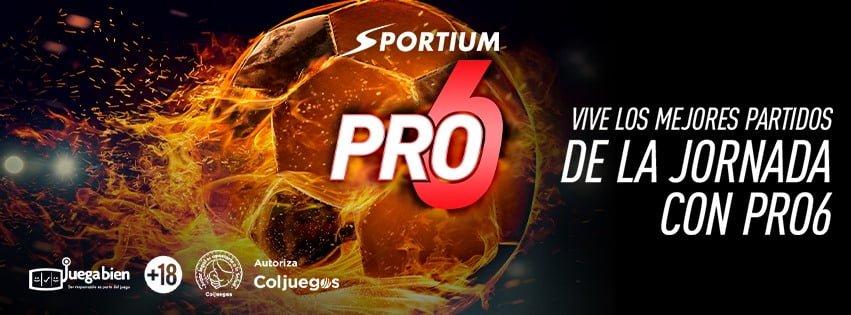 Bono Sportium Pro 6 para Colombia
