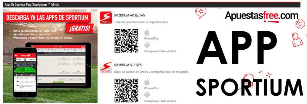 App Sportium Scores