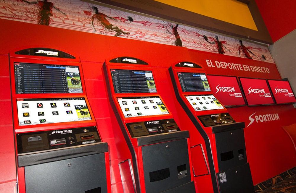 Máquinas físicas Sportium