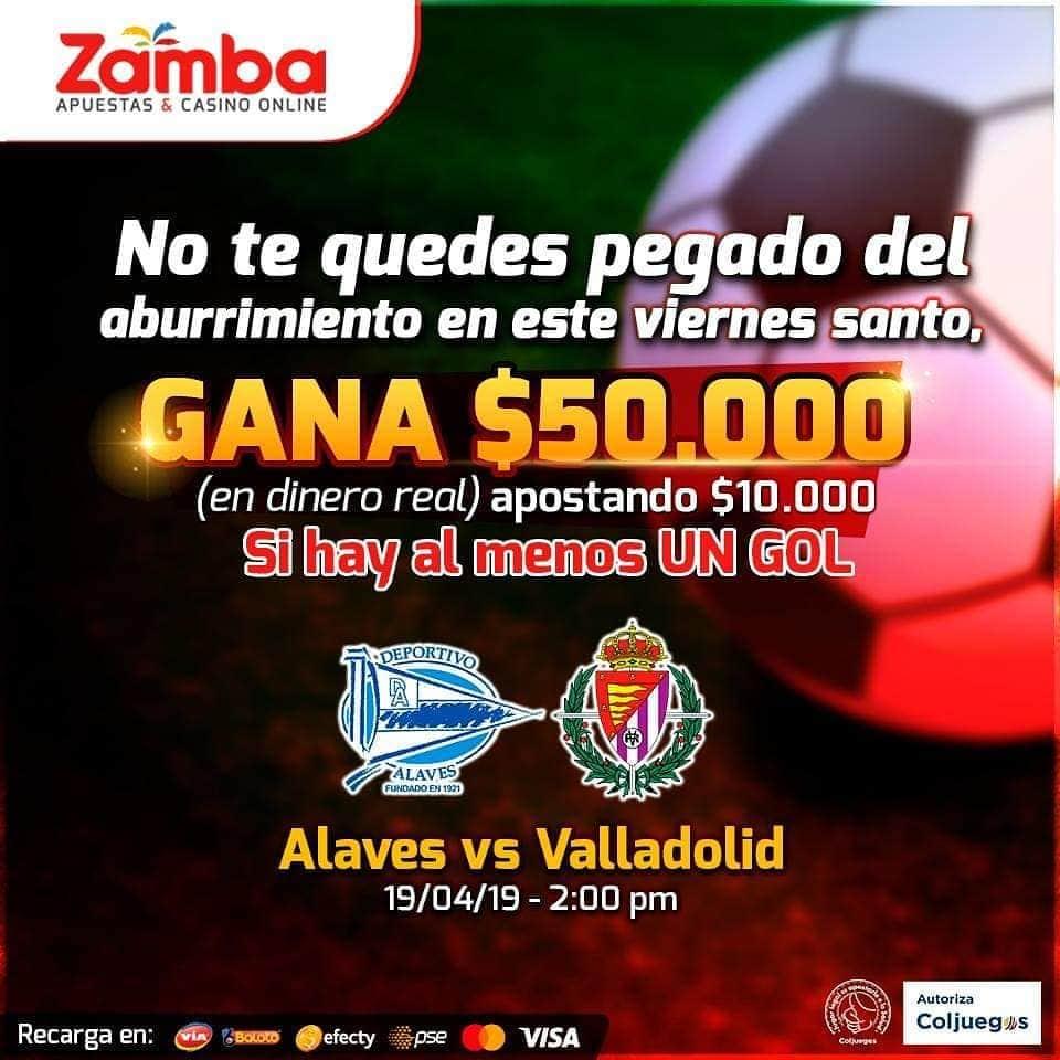 Ejemplo Superapuesta para Colombia de Zamba