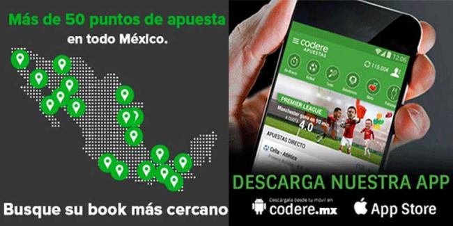 Codere App oficial en México