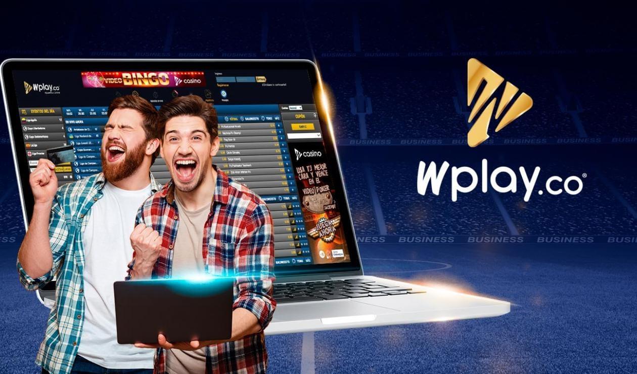 Versión móvil de Wplay en Colombia