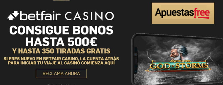 Bono Betfair Casino
