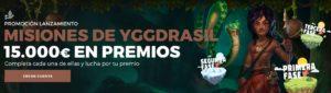 15.000 euros en Misiones de Ygdrassil