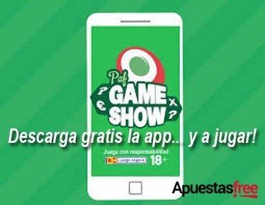 concurso paf game show