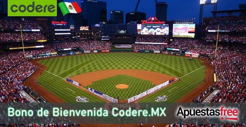 Bono de bienvenida de Codere en México