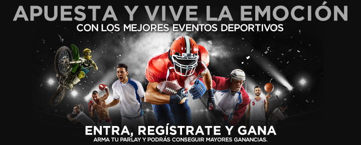 oferta en deportes de Caliente México