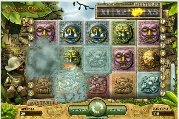 Codere slots gonzos quests