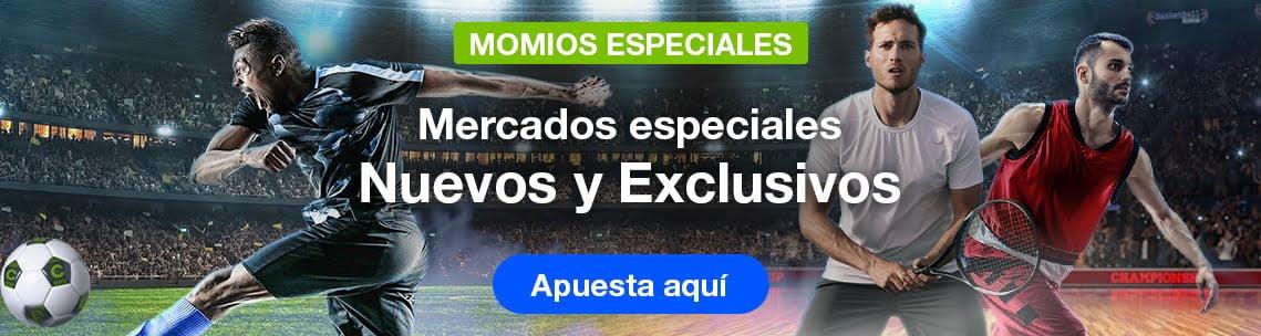Codere momios especiales en México