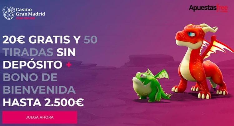 bono bienvenida del Casino Gran Madrid Black Friday