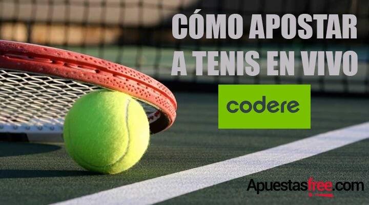 apostar tenis en vivo codere