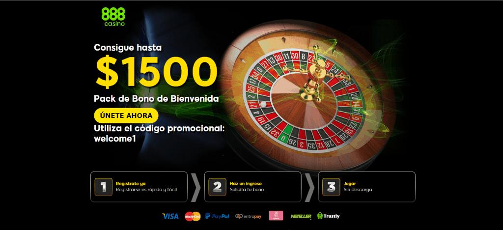 paquete premium de bienvenida 888casino