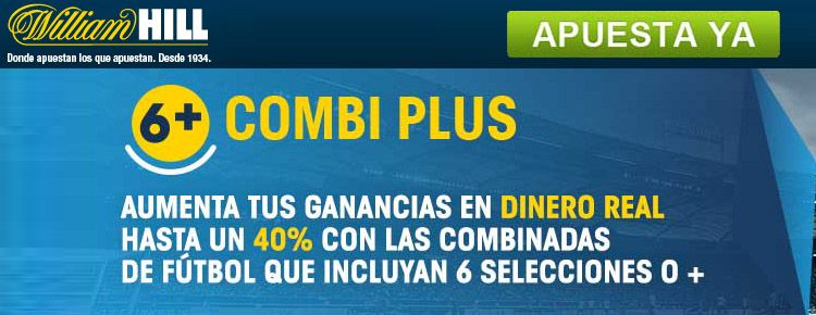 Combi plus de William Hill