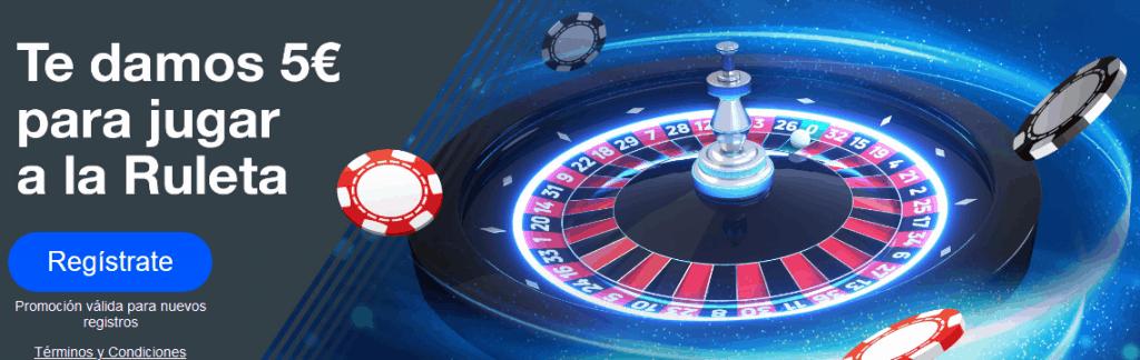 bono ruleta sin depósito