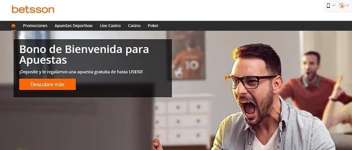 Bono de bienvenida de Betsson México