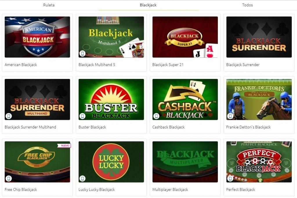 jugar blackjack merkurmagic