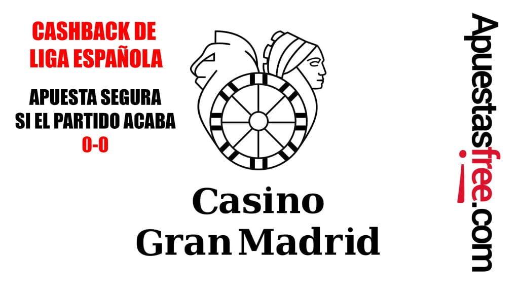 conseguir cashback casino gran madrid