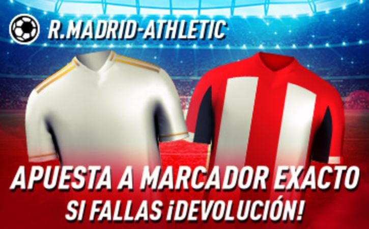marcador exacto real madrid athletic sportium