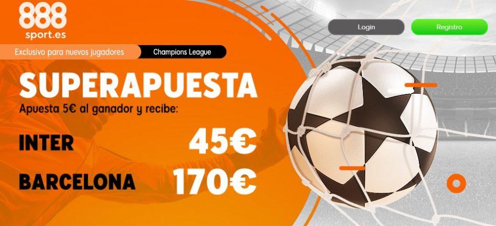 superapuesta 888sport inter vs barcelona