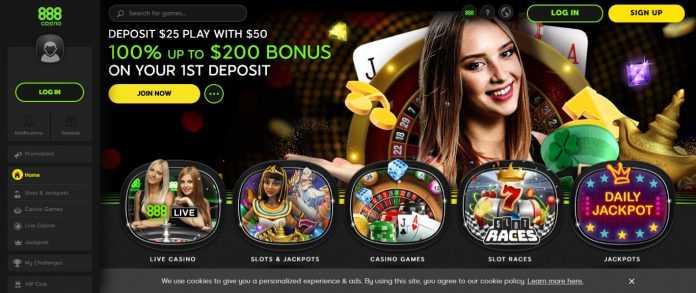 888casino bono $200