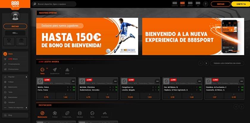 888sport bono apuestas
