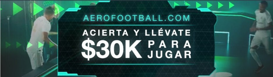 Codere aerofootball Colombia