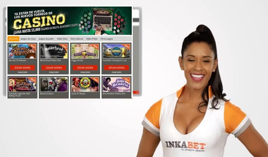 Inkabet juegos del casino en Perú