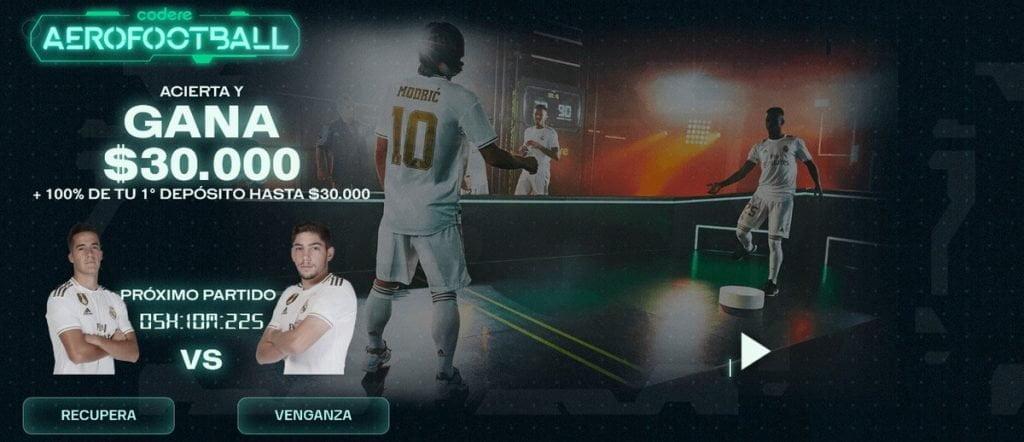 Codere aerofootball