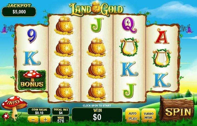 land of gold codere casino